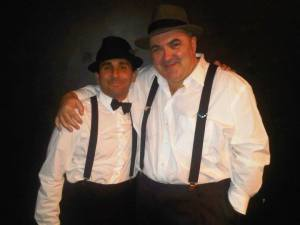 Glen Hirshberg (L) and Peter Atkins (R) founded the Rolling Darkness Revue in 2004.